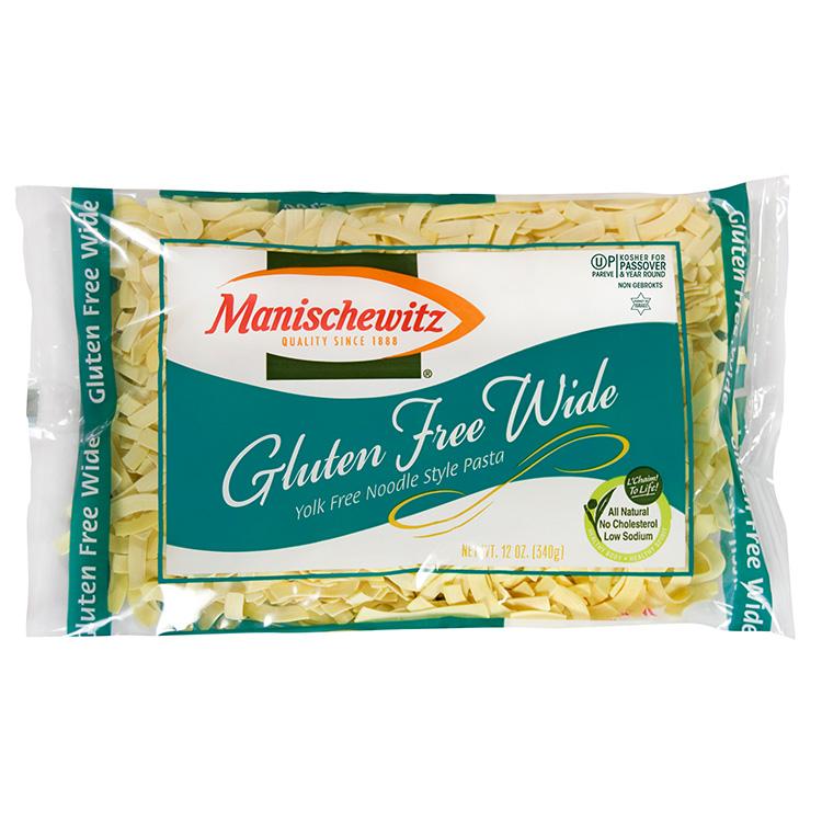 Gluten Free Wide Egg Noodles - Manischewitz